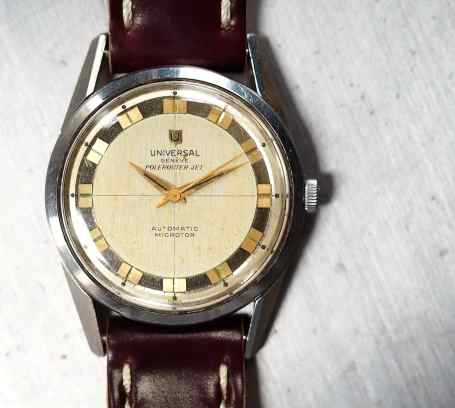 The shell cordovan strap from Rover Haven really looks nice on the Polerouter Jet