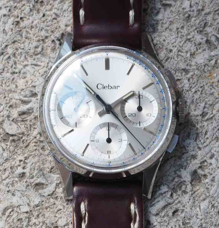 Head on with the Clebar chronograph...modern, yet not