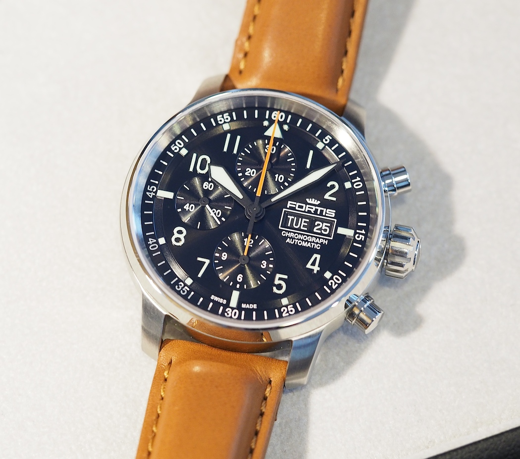 The Flieger Professional Chronograph from the Fortis Baselworld 2016 presentation