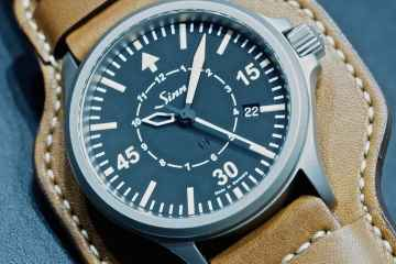 Sinn at Baselworld 2016: 856 B-Uhr cover