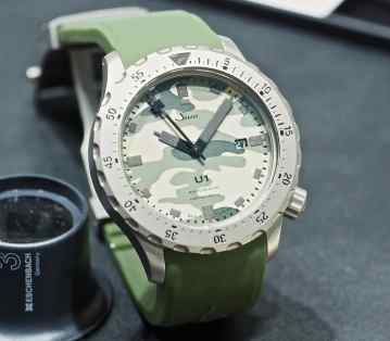 Sinn at Baselworld 2016: U1 Camouflage