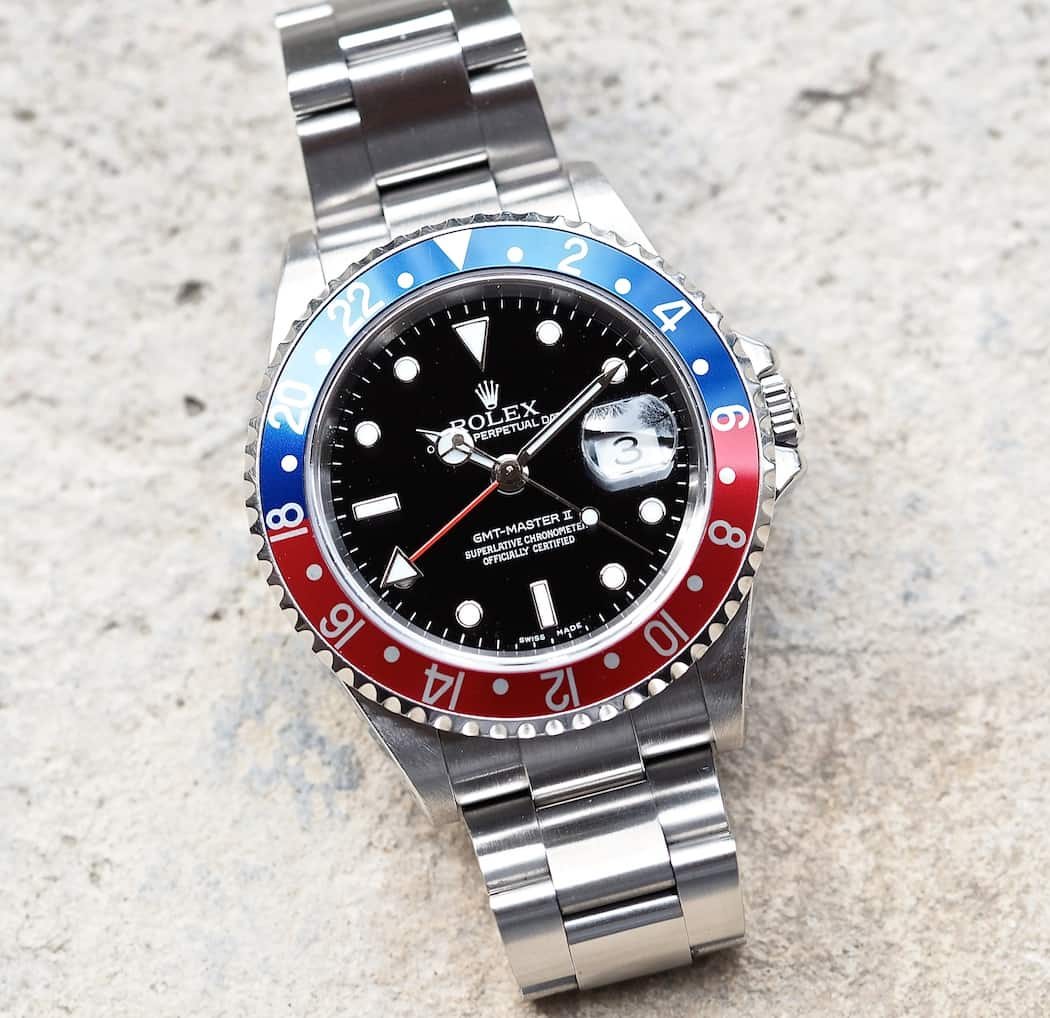 Rolex GMT-Master II 16710 head on...gone since 2007