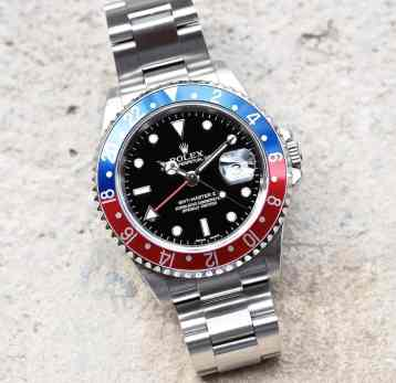Rolex 16710 GMT-Master II head on...gone since 2007