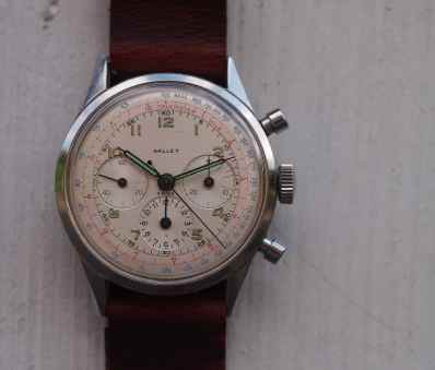 Gallet Multichron head on