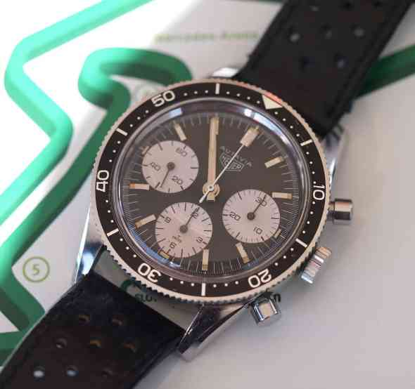 Heuer Autavia 2446 great pushers
