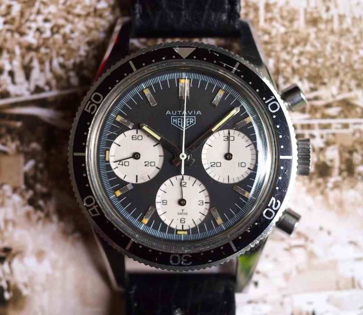 Heuer Autavia 2446 head-on