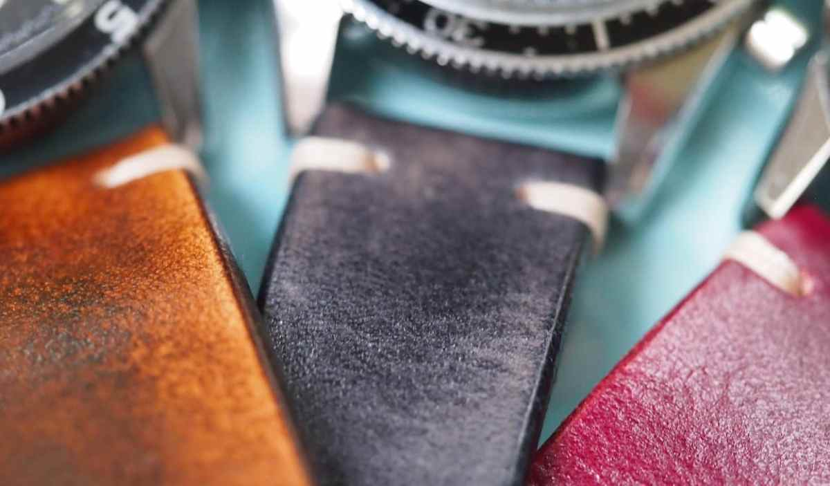Rich colors on the BCatt watch straps