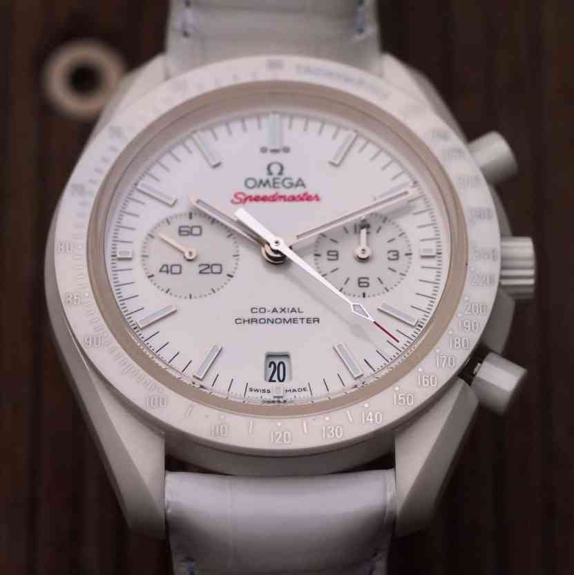 Speedmaster White Side of the Moon dial depth