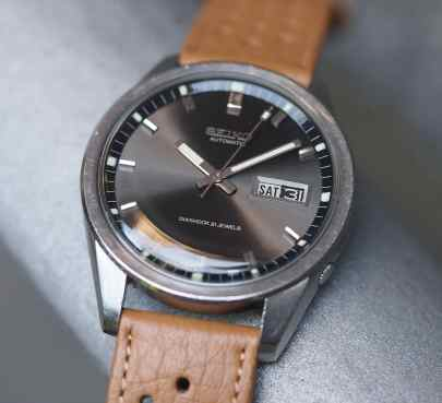 Seiko Sportsmatic day and date wheel