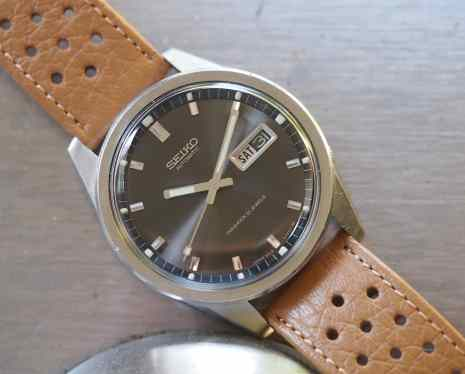 Seiko Sportsmatic slim cover