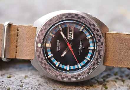 Seiko Rally Diver date window