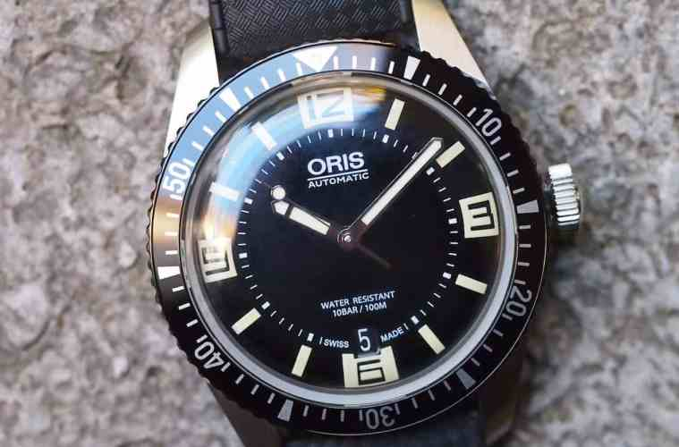 Oris Divers Sixty-Five cover