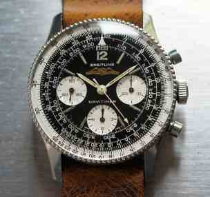 Breitling Navitimer 806 head on