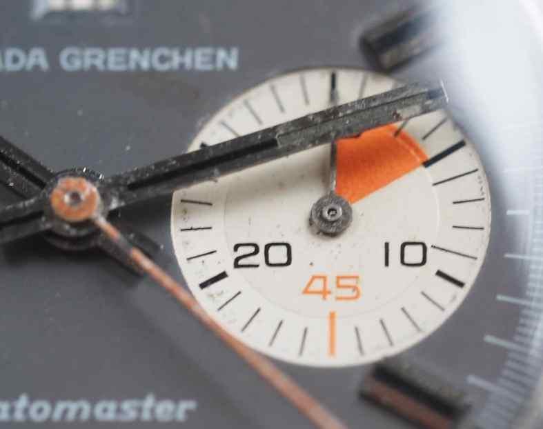 Nivada Grenchen Datomaster sub register