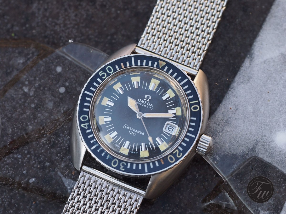 Divers like this Omega Seamaster 120 represent great value today
