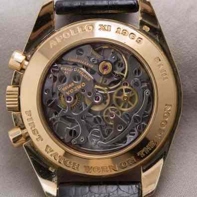 Gold Moonwatch Model