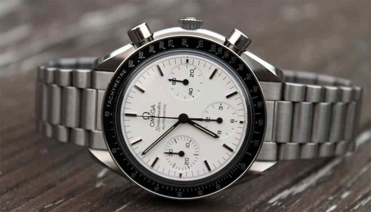 Speedy Tuesday - Omega Speedmaster Reduced White Dial