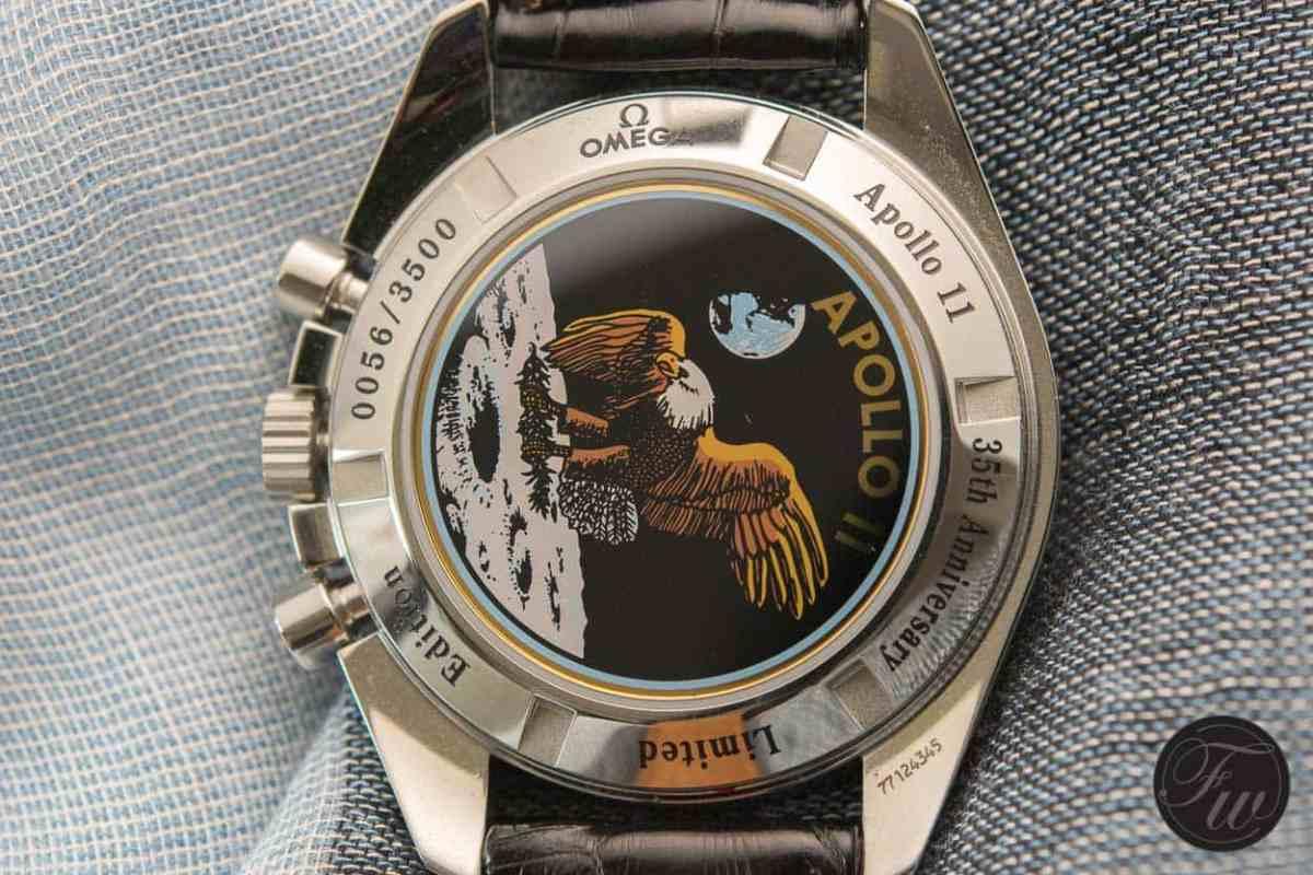 Caseback Speedmaster Apollo XI 35th anniversary 3569.31