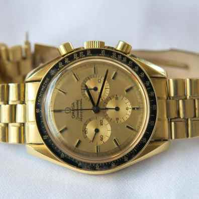 Gold Speedmaster Professional