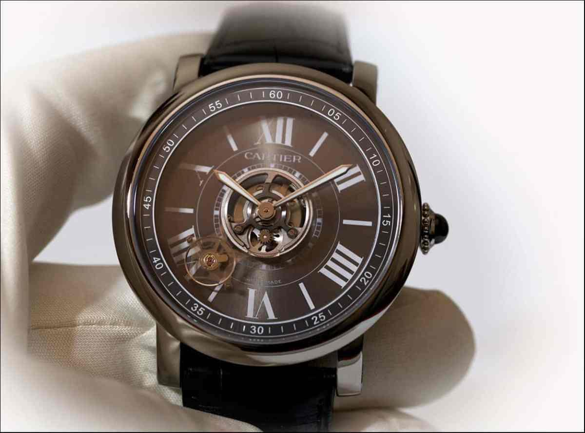 Cartier Astro Tourbillon Carbon Crystal