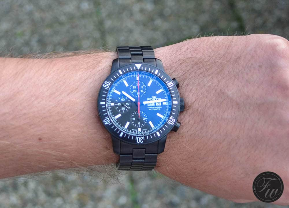 Hands-On with the Fortis Monolith Chronograph