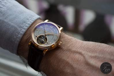 The new A. Lange & Söhne 1815 tourbillon Handwerkskunst