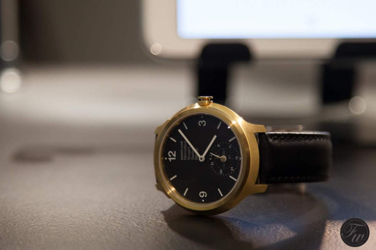 Mondaine Helvetica No.1 Horological Smartwatch