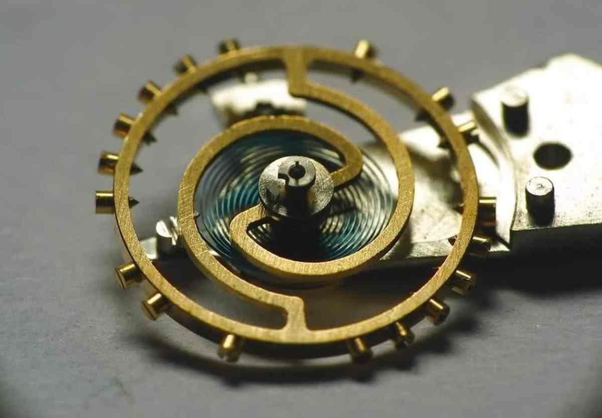 Wyler Incaflex balance wheel