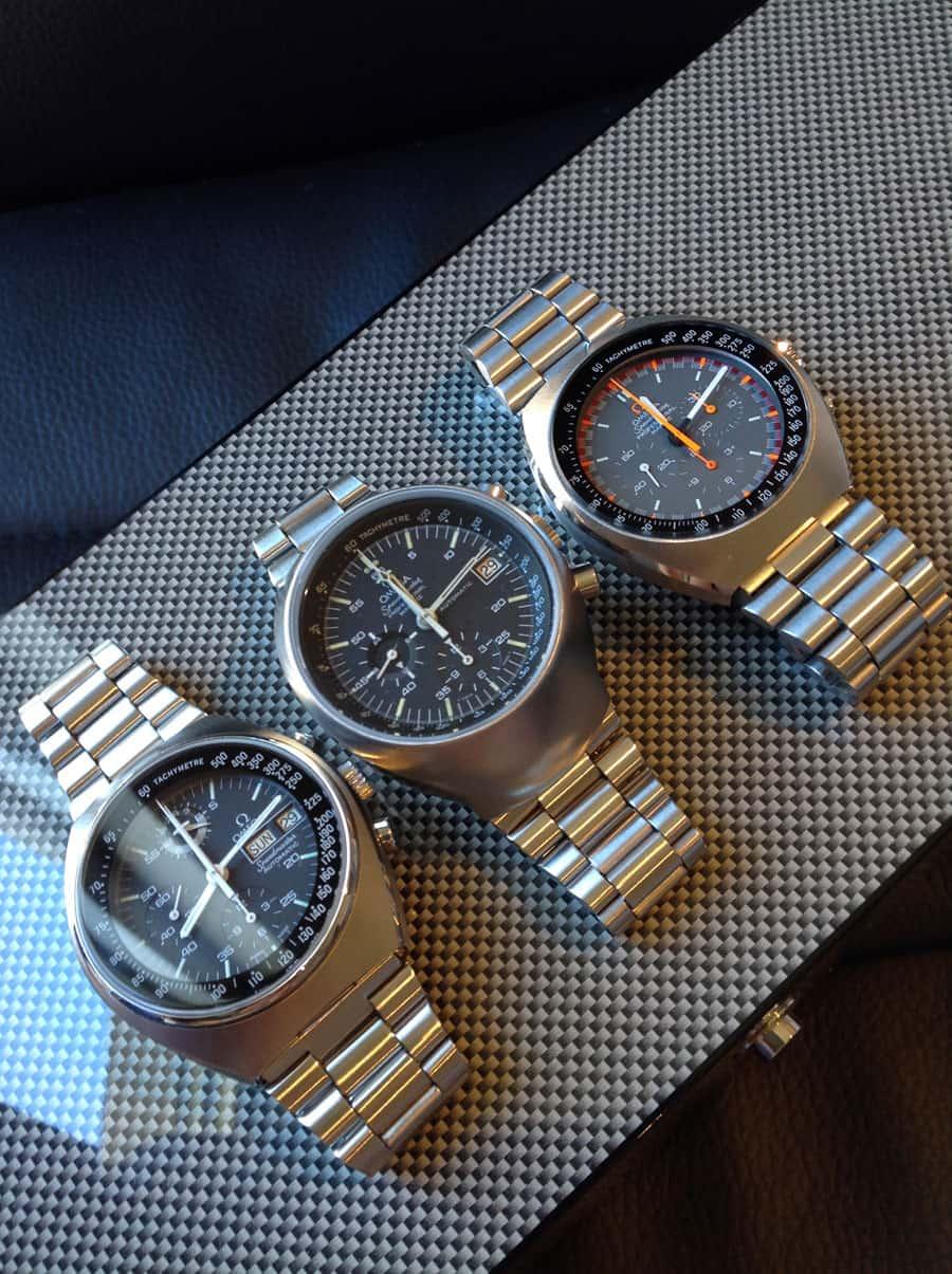 Omega Speedmaster Mark Series