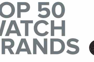 Top 50 Watch Brands