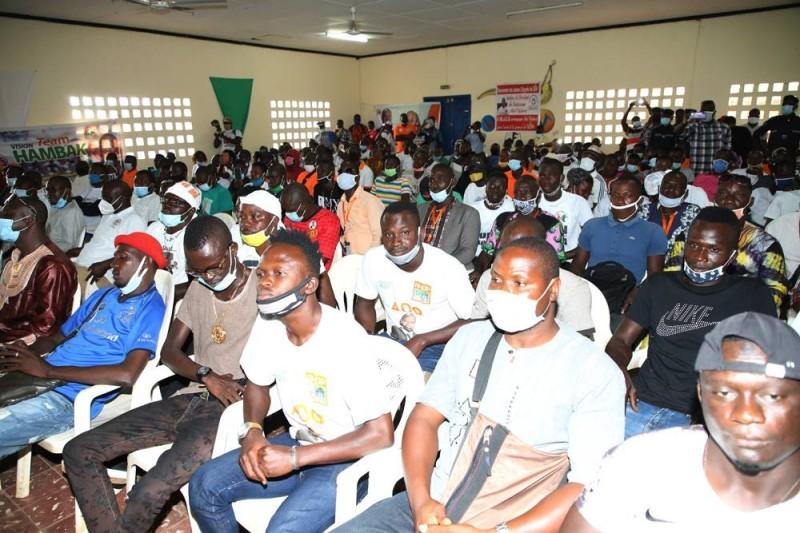 La jeunesse a répondu à l'appel du Premier ministre Hamed Bakayoko. (DR)