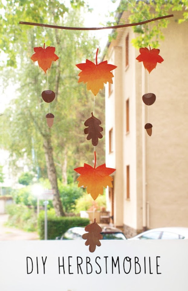 DIY Deko: Herbstmobile
