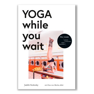 Cover - Yoga while you wait