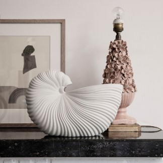 ferm Living Shell Pot weiss Livland.