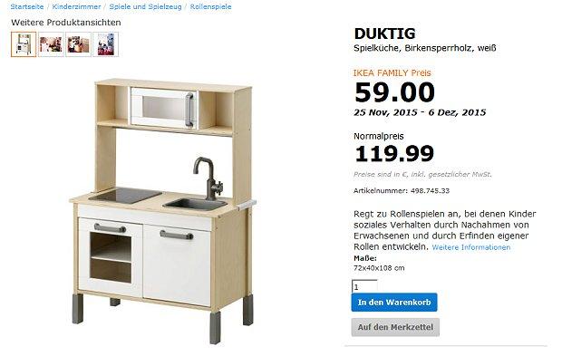 Ikea Duktig Kinderküche Reduziert Für Kurze Zeit