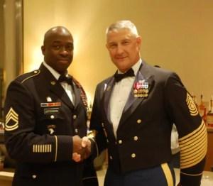 Sgt. Maj. Raymond F. Chandler