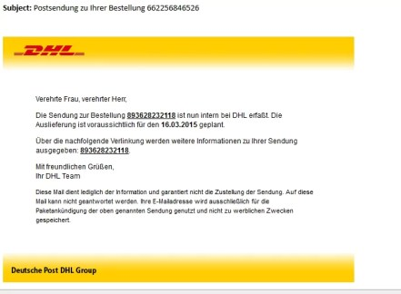 DHL Scam
