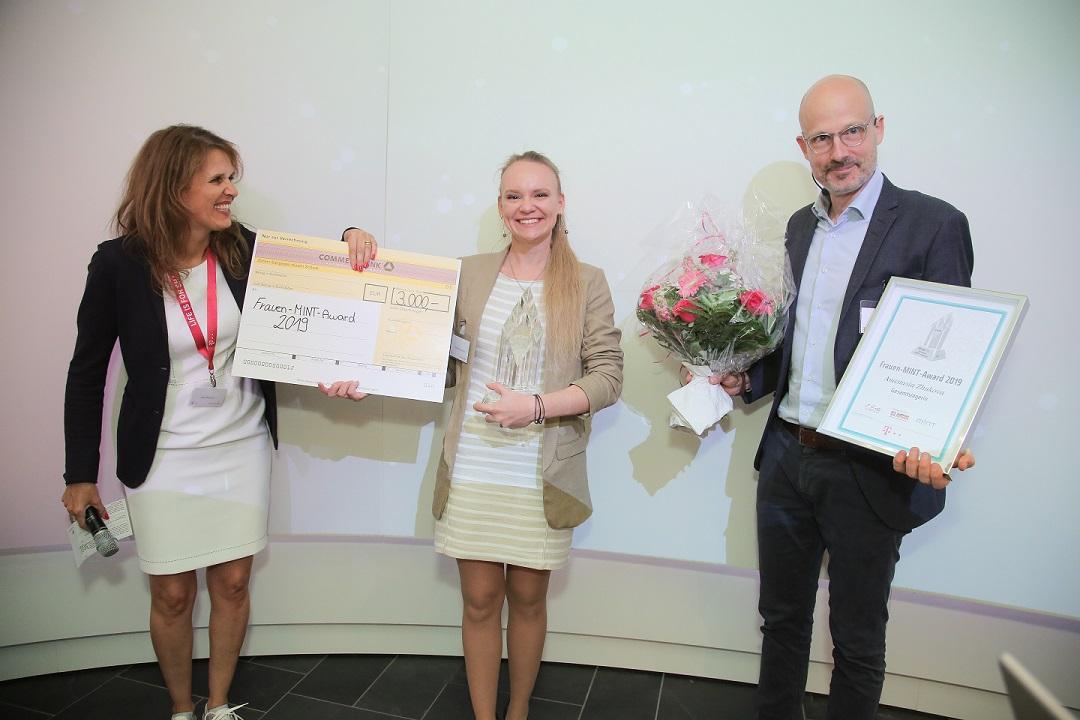 Gesamtsiegerin Frauen MINT-Award
