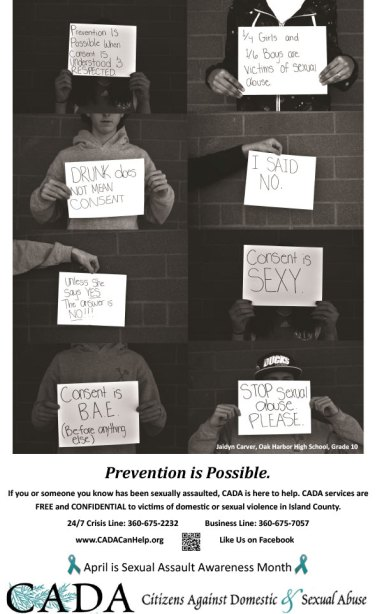 """""""Consent is possible when …"""" by Jaidyn Carver, OHHS"""