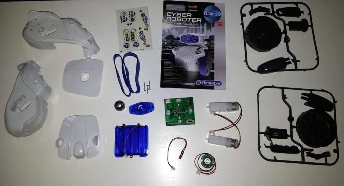 Clementoni Cyber Roboter programmierbar Teile