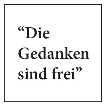 Zoff im Netz - Die Gedanken sind frei... by fraumau