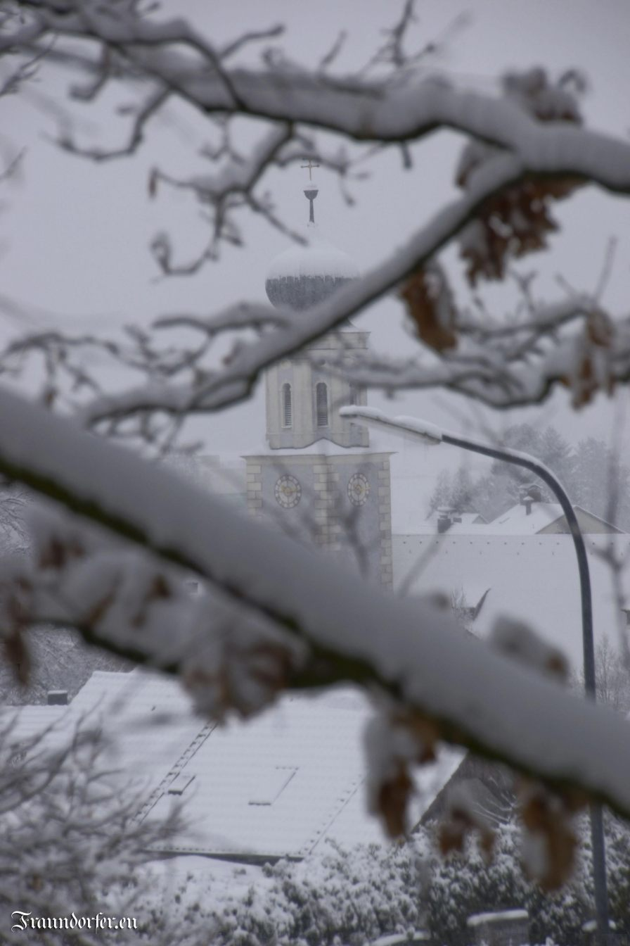 Flashback 2012 - Kirchturm im Winter