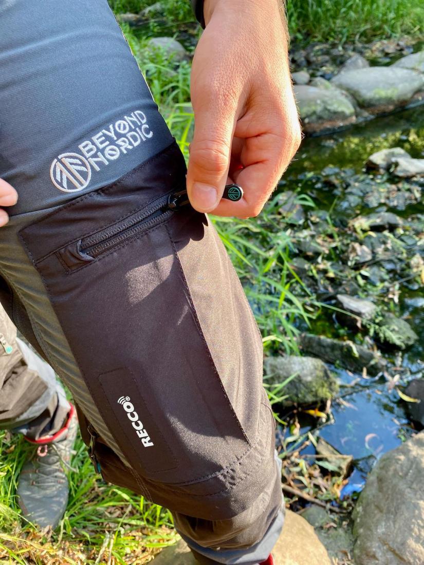 Beyond Nordic - Zip-Off-Wanderhose Tasche