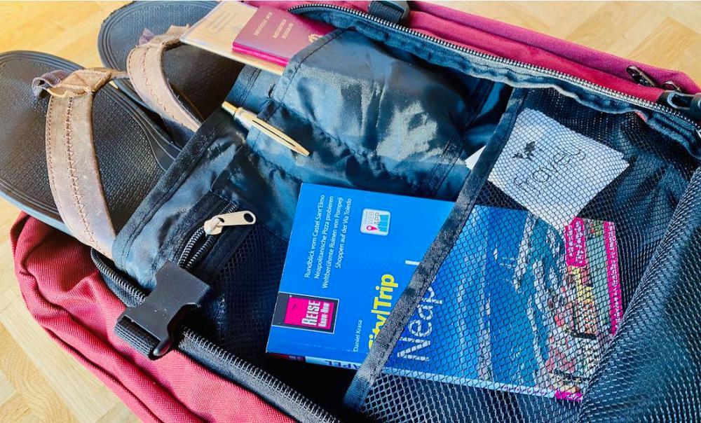Cabin Bag Metz EasyJet Fach für Kleinkram