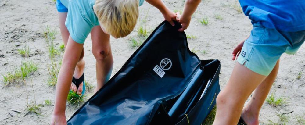 ECD Germany Stand Up Paddle Board - Tasche öffnen