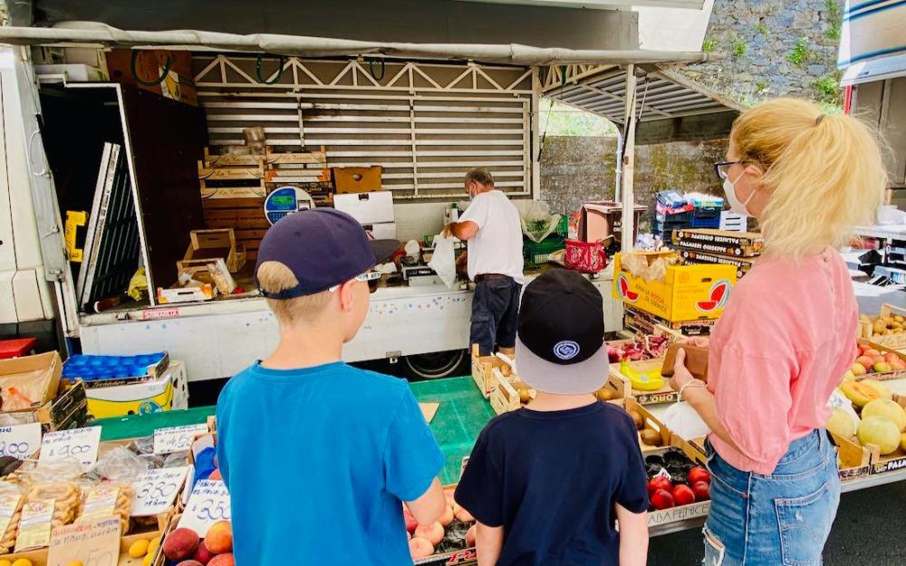 Markt in Sestri Levante