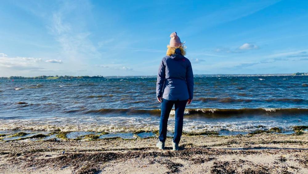 Melanie an der Ostsee