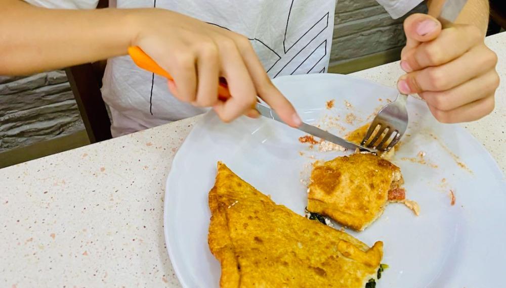 Piza Fritta in der Pizzeria De' Figliole
