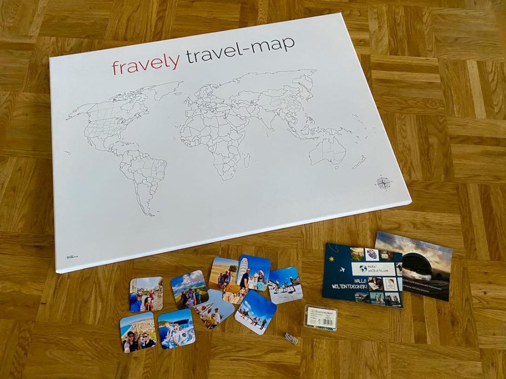 meine-Weltkarte.com Alles in der Lieferung