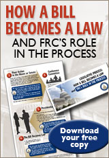 How a Bill becomes a law and FRC's role in the process
